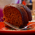 Gingerbread Bundt Cake with Chocolate Glaze