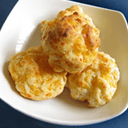 Cheese-Garlic Biscuits