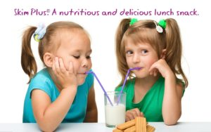 Skim PLus. A nutritious and delicious lunch snack.