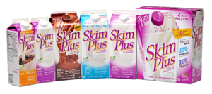 A healthy variety of Skim Plus Milk for the whole family.