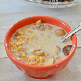 Slow-Cooker Corn Chowder