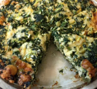 Low-Cal-Crustless-Spinach-Quiche