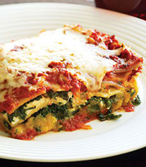 Squash and Spinach Lasagna