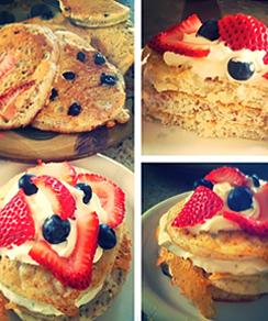 Berry Yummy Pancakes